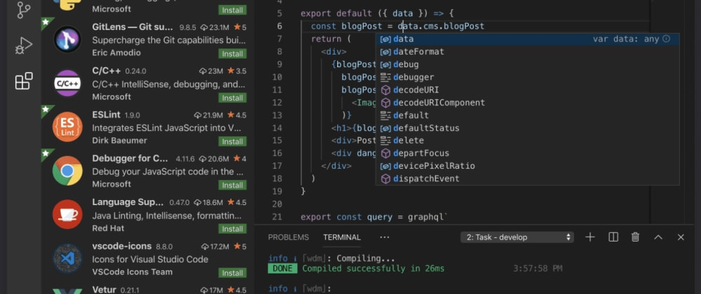 Cover image for 5 VS Code Extensions For Team Productivity