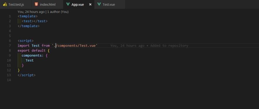 App.vue component