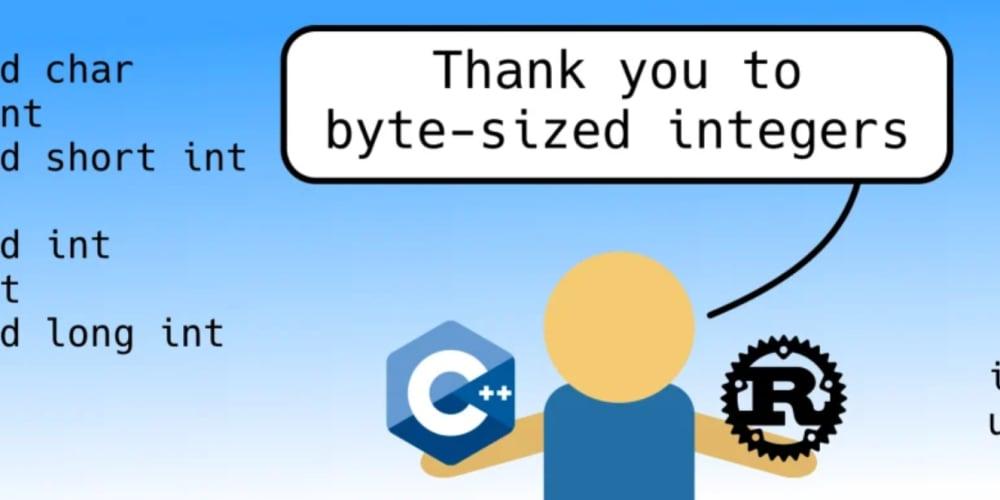 Thank you to byte-sized integers - DEV Community 👩 💻👨 💻