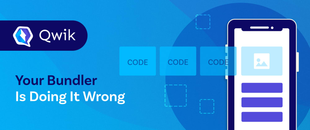Cover image for Your bundler is doing it wrong
