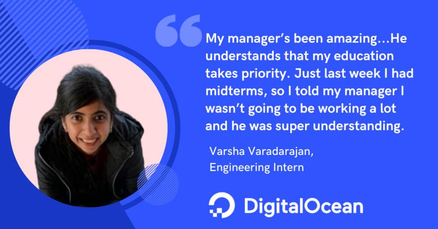 Varsha Varadarajan interview splash