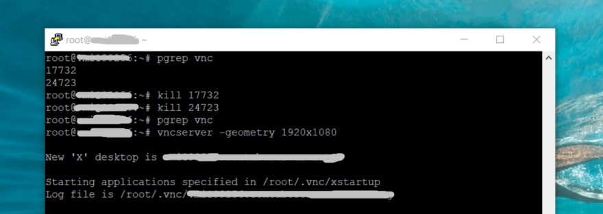 TightVNC too many authentication failures [Resolved] - DEV