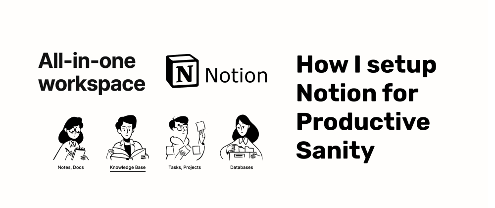 Cover image for How I set up Notion for Productive Sanity