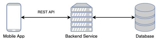 Architecture with single backend instance