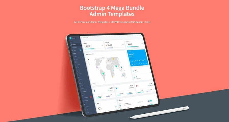 CodedThemes - Bootstrap Mega Bundle.