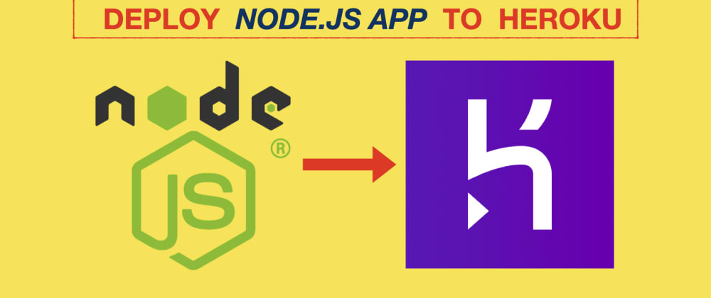 Cover image for Deploy NodeJS/Express app to Heroku in less than 5 Minutes 🎯(with video)