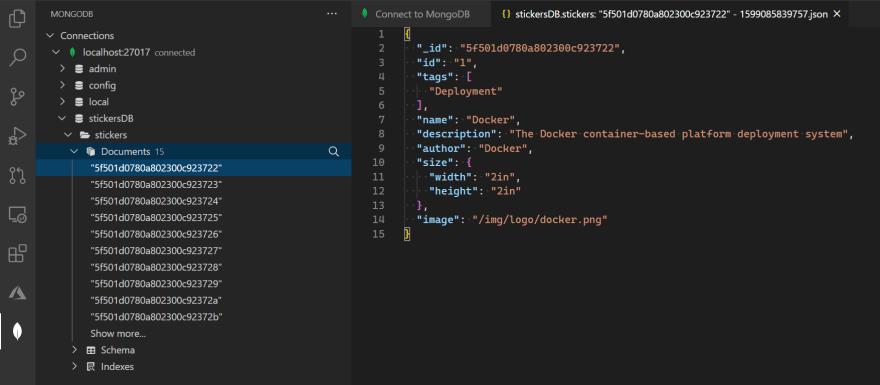 MongoDB for VS Code