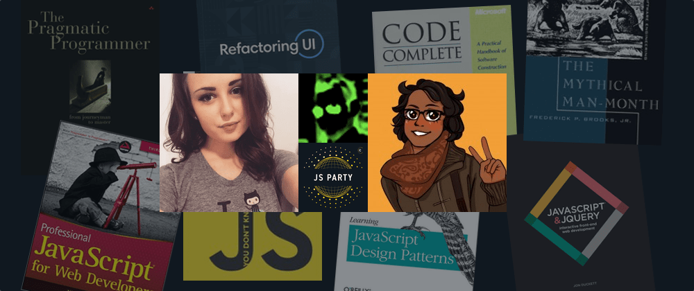 Cover image for 8 great reads for aspiring JavaScript devs 📚