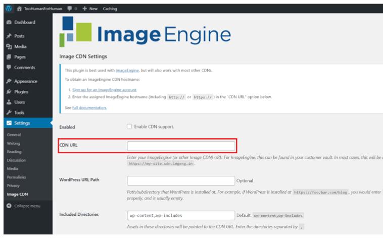 Wordpress image cdn