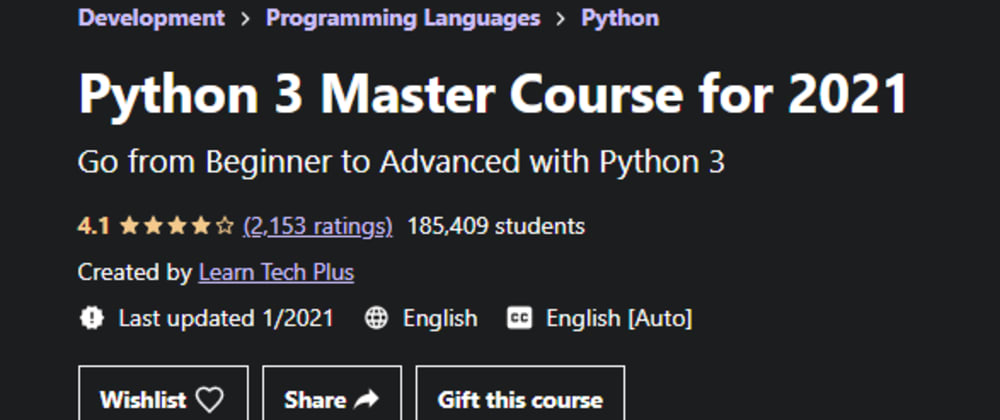 Cover image for  100% off Udemy Programming Class Coupons