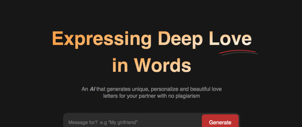 Cover image for Guess What? Here's How AI Is Generating Love Letters… chuckle