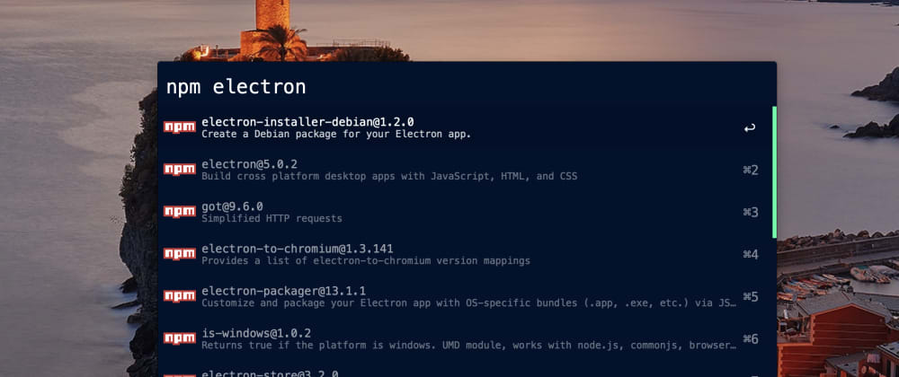 Cover image for [Alfred] How to display the latest version of npm packages with Package Managers Workflow