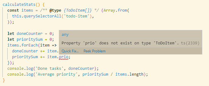 Type-Safe Web Components with JSDoc - DEV Community 👩 💻👨 💻