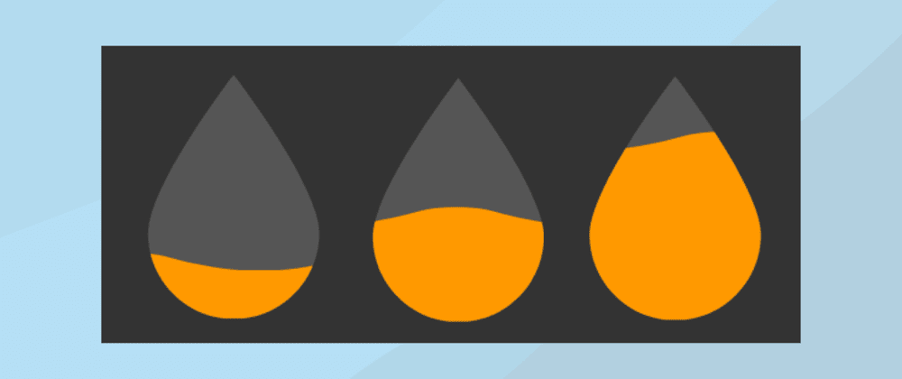 Cover image for Animated SVG Water Pictorial Fraction in Svelte