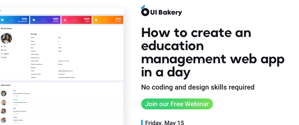 Cover image for Building an education web app in a day
