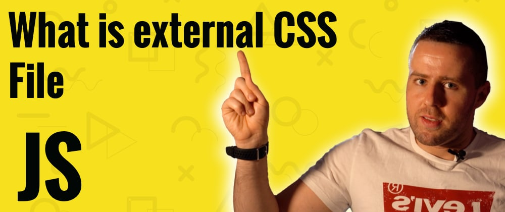 Cover image for What is external CSS file?
