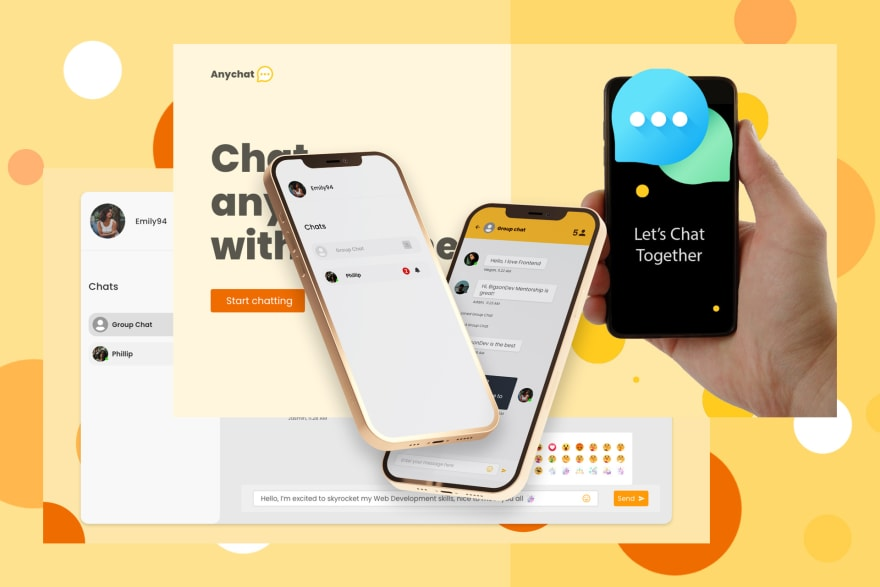 Chat App Project Promo Image