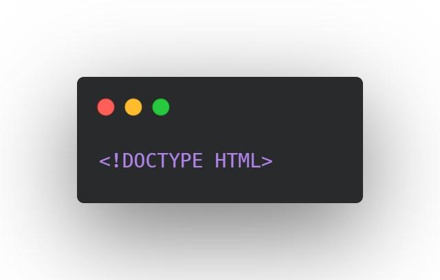 Declare correct Doctype