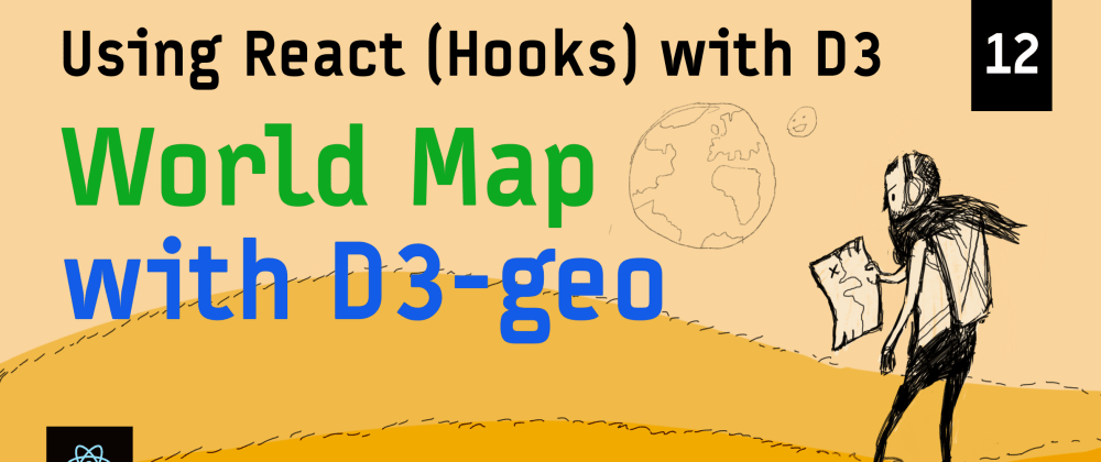 Cover image for Interactive World Map with D3-geo