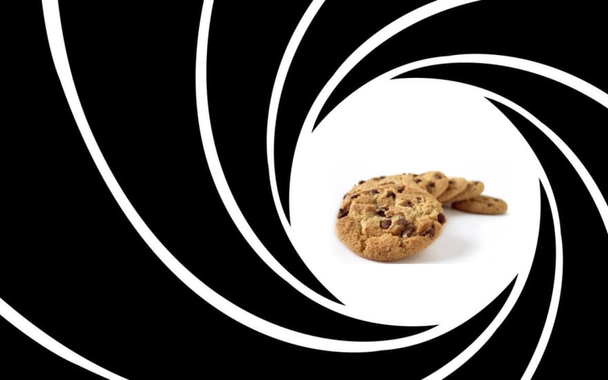 It's a bad joke about James Bond being a cookie...