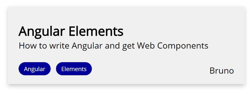 Talk component