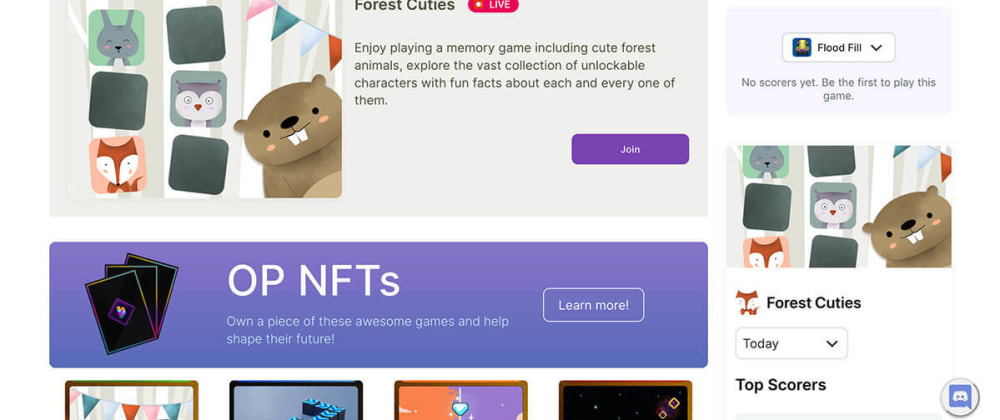 Cover image for Forest Cuties tournament