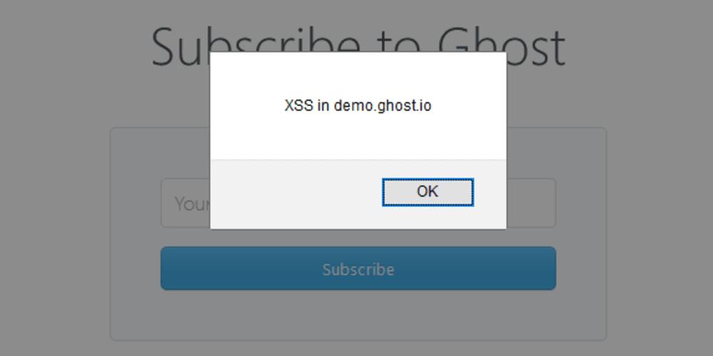 XSS in Ghost - DEV Community 👩 💻👨 💻