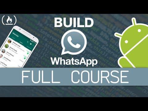Native Android App Tutorial: WhatsApp Clone