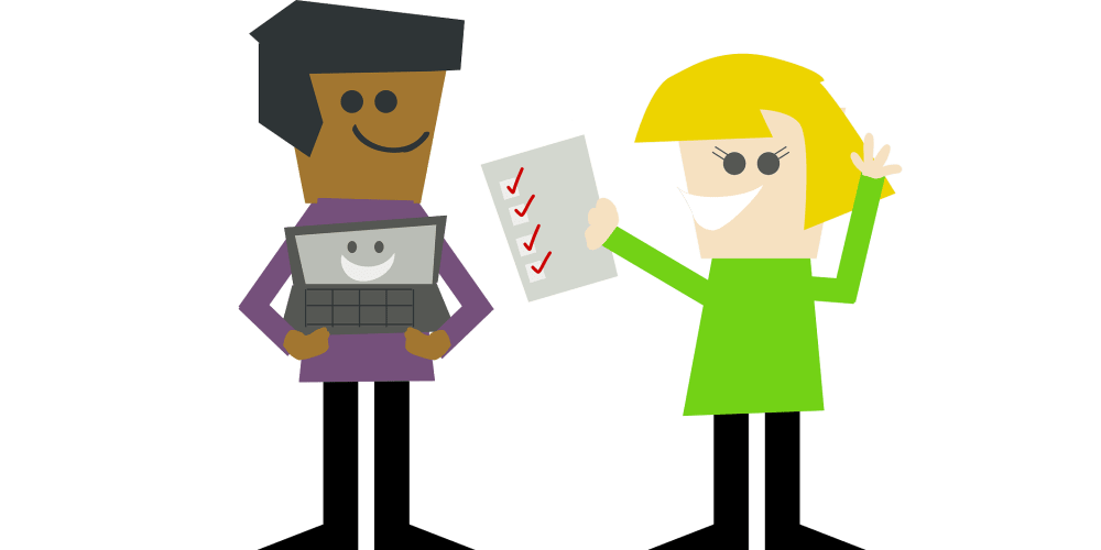 A code review checklist prevents stupid mistakes