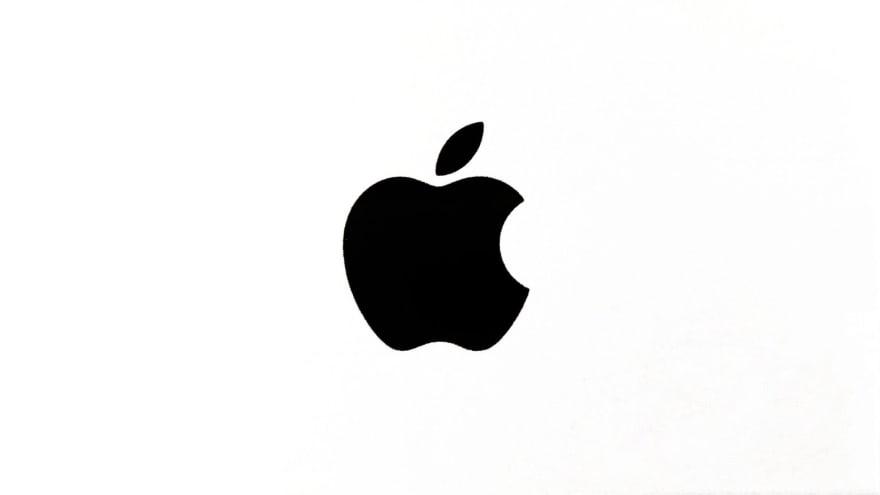 Image shows apple logo
