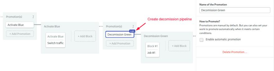 decomission promotion