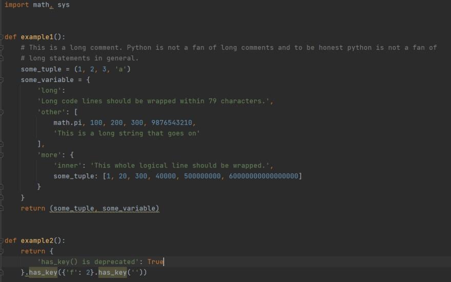 Test Script after yapf