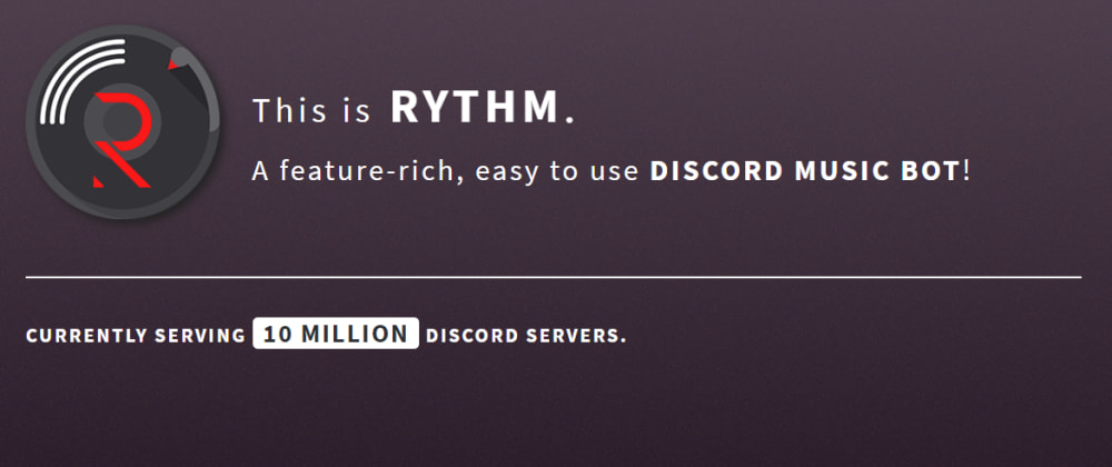 Cover image for Rythm Bot for Discord - Guide - Features - Commands