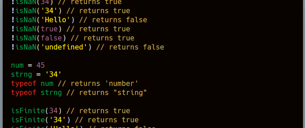 Cover image for 3 ways to check if variable is a number in JavaScript