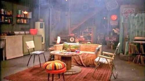 That 70s Show smokey basement