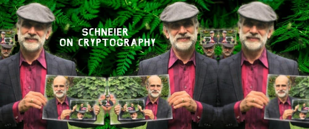 Cover image for Schneier on Cryptography. 🎤Live Interview