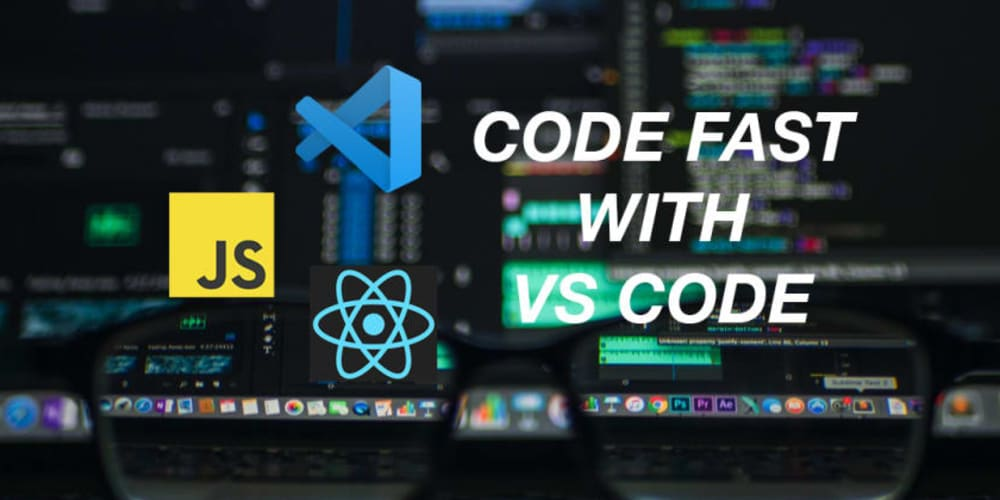 How to write Javascript and React with VS Code FASTER!