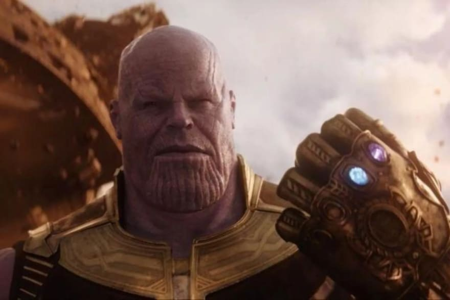 Picture of Thanos unrelated