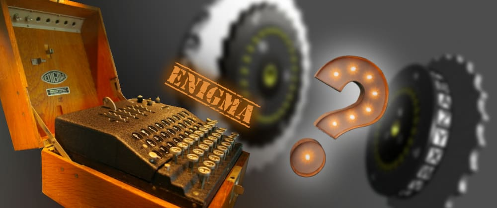 Cover image for Enigma machine, how does the famous encryption device work?