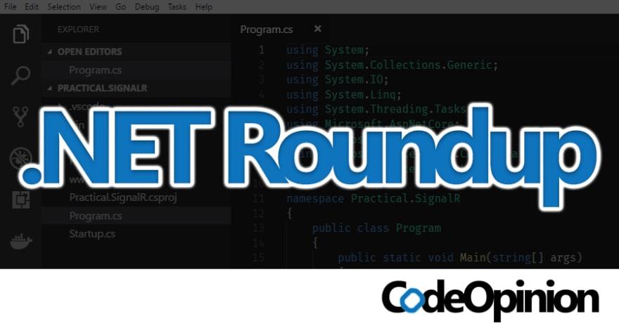 .NET Roundup