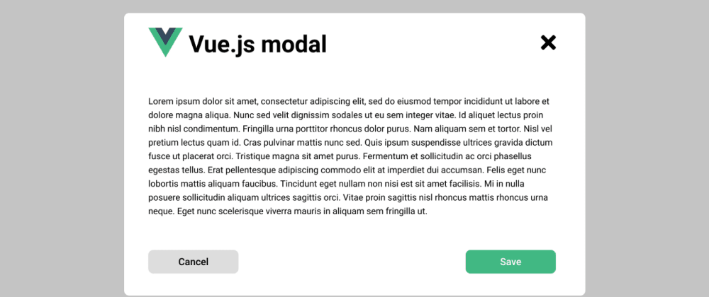 Cover image for How to Build a Modal in Vue.Js