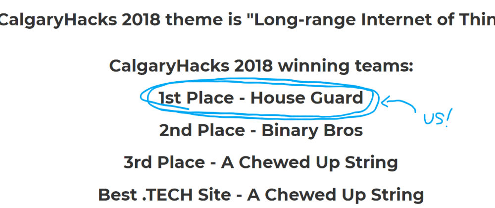 Cover image for How we won our first 24-hour hackathon