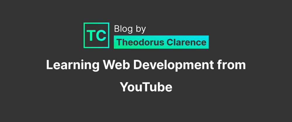 Cover Image for Channel List to Learn Web Development from Youtube
