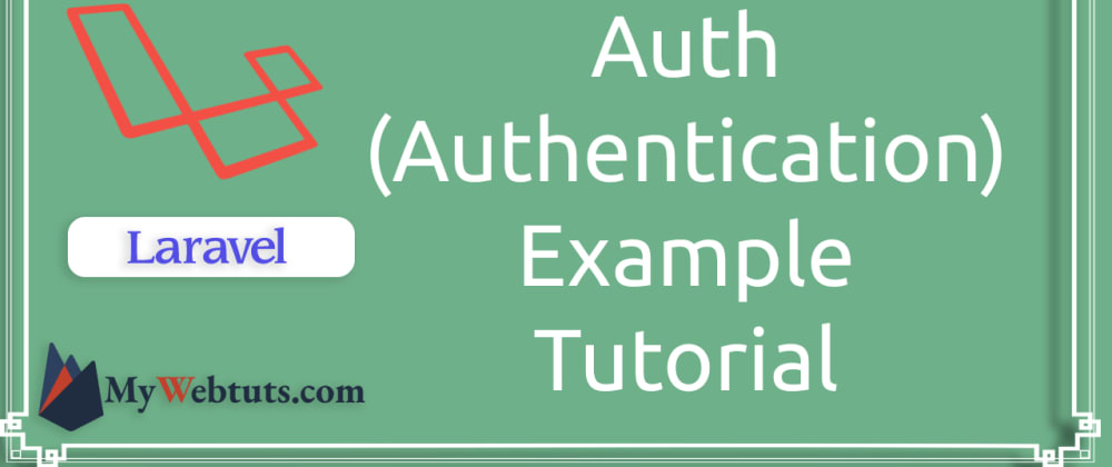 Cover image for Laravel 8 Multi Auth (Authentication) Example Tutorial