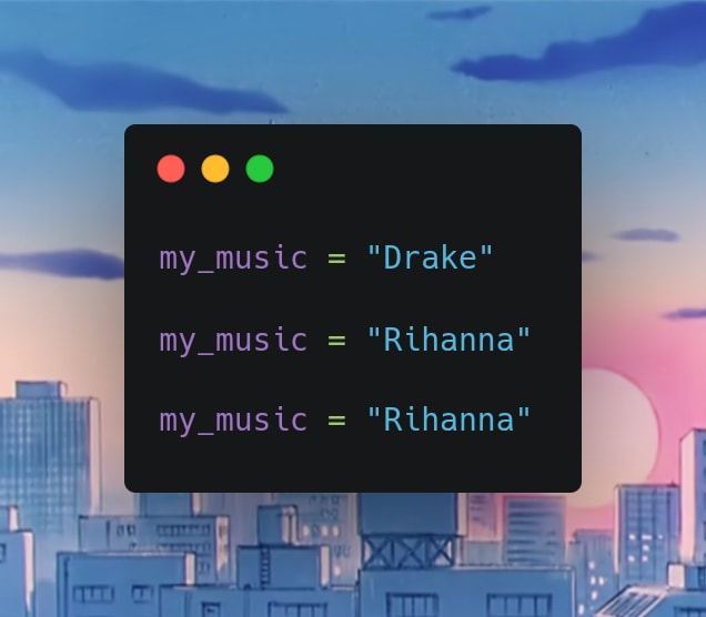 100DaysOfPython Day 1: Hello World, Data Types & Strings