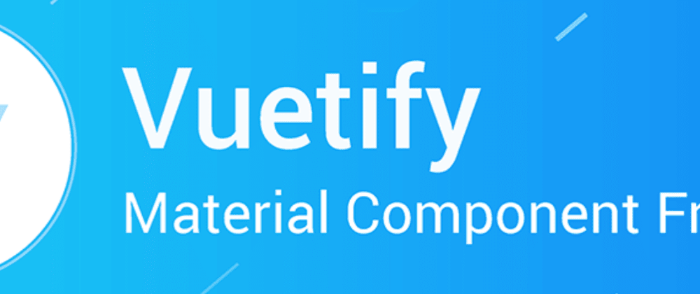 Cover image for  Modern WebApps - Style: Vuetify