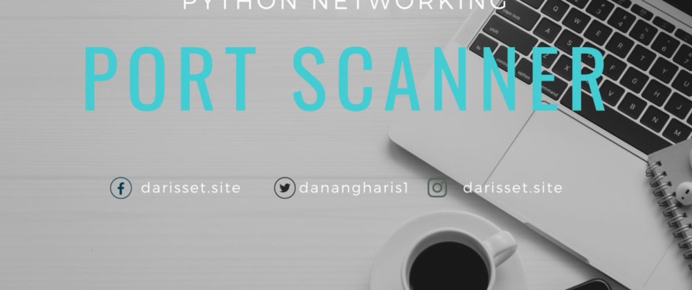 Cover image for Port Scanner Dengan Python