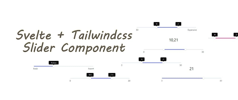Cover image for Svelte and Tailwindcss Slider