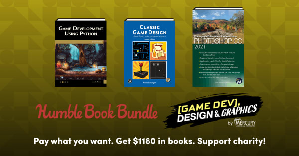 HUMBLE BOOK BUNDLE: GAME DEV, DESIGN & GRAPHICS BY MERCURY