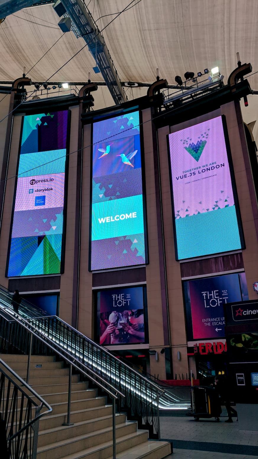 Vue London 2019 entrance